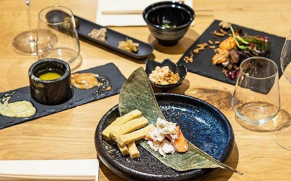 Degustační večeře Omakase s víny