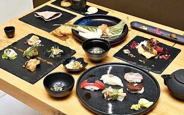 Originální degustační večeře Omakase