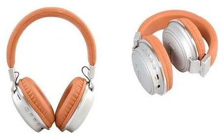 Bezdrátová sluchátka Shock hnědá