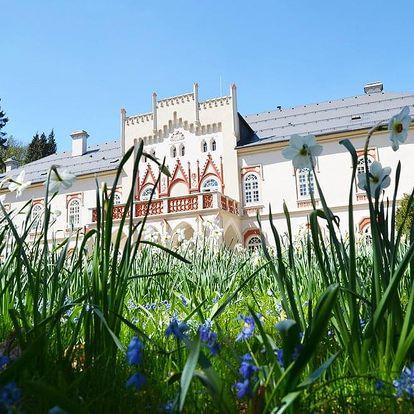 Pobyt na zámku Herálec pro novomanžele