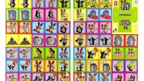 Krtek Pexeso společenská hra 22x30cm