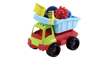 Hračka Ecoiffier Nákladní autíčko s formičkami 34 cm