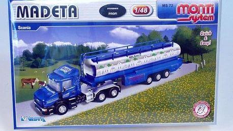 Monti 72 Madeta Scania Stavebnice 1:v krabici 32x20,5x7,5cm
