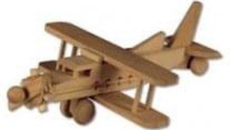 Dřevěná hračka letadlo AD113