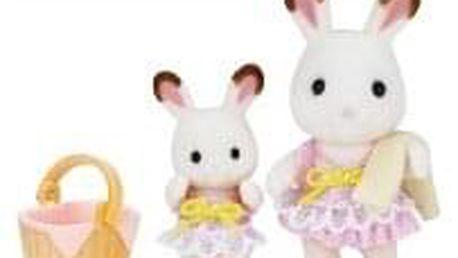 Hračka Sylvanian Family 2 králíci v plavkách