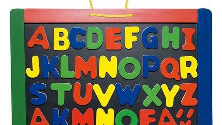 Hračka Woody Magnetická tabule s písmeny