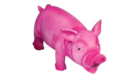 Karlie Latexová hračka Prase, růžová, 22 cm