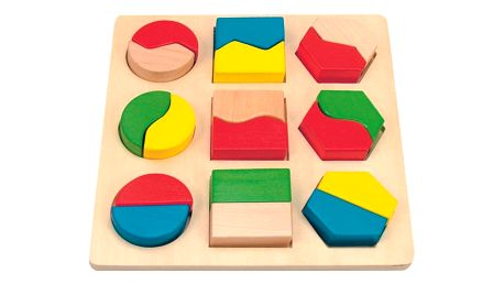 Hračka Woody Destička s geometrickými tvary