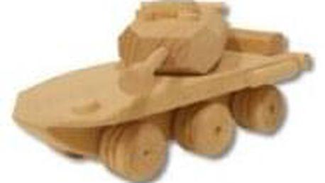 Dřevěná hračka tank AD104
