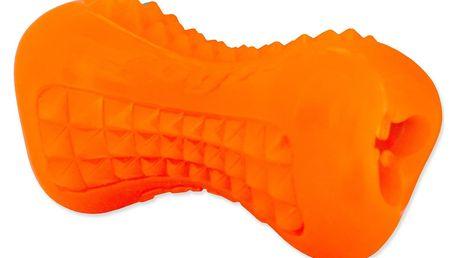 Hračka ROGZ kost oranžová S 1ks