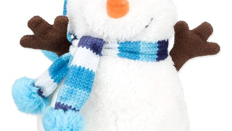 Hračka TRIXIE sněhulák plyšový 17 cm
