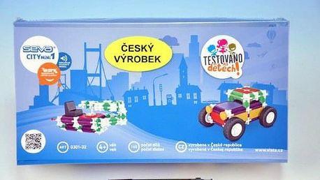 Seva City mini 1 Stavebnice plast 1krabici 31x16x7,5cm