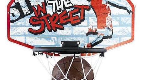 Hračka G21 Stěna s košem na basketbal