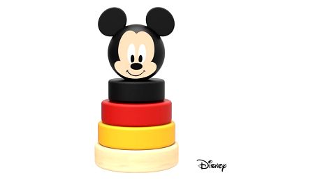 Hračka Derrson Disney Dřevěná pyramida Mickey Mouse