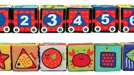 Hračka K'S Kids Zábavné textilní kostky (6 ks)