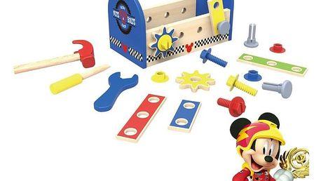 Hračka Derrson Disney Dřevěné nářadí v boxu Mickey Mouse