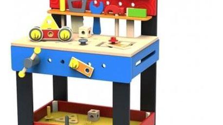 Hračka Derrson Disney Mickeyho velký dřevěný ponk pro kutily