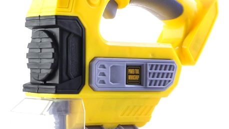 Hračka G21 Přímočará pila na baterie DELUXE TOOLS