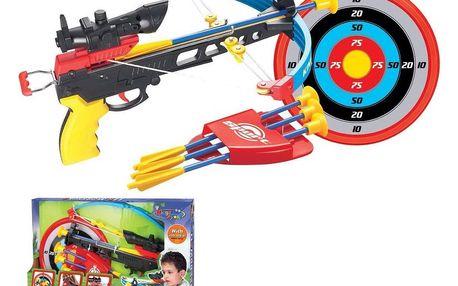 Hračka G21 Kuše pistolová modrá