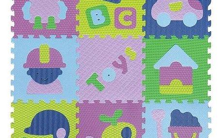 Baby Great Pěnové puzzle Klučičí hračky SX (30x30)