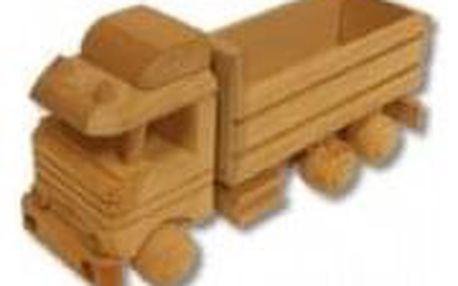 Dřevěná hračka náklaďák AD106