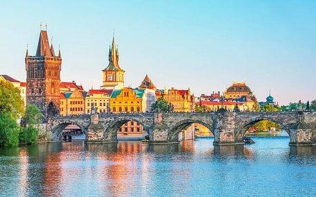 Praha v Hotelu Golden Golem *** jen 20 minut od centra v klidné lokalitě + snídaně a poukazy na večeři