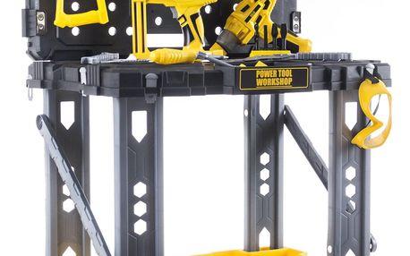 Hračka G21 Pracovní stůl s nářadím DELUXE TOOLS
