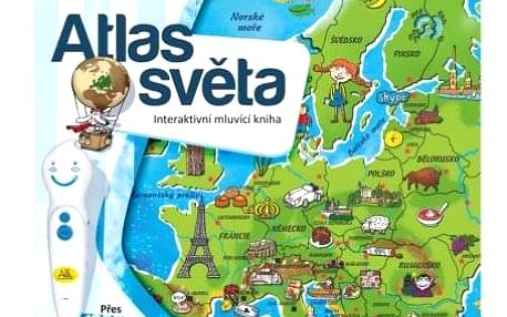 Kniha Albi Kouzelné čtení Atlas světa