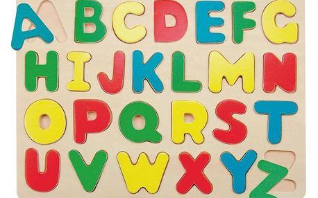 "Hračka Woody Puzzle na desce ""Abeceda"""