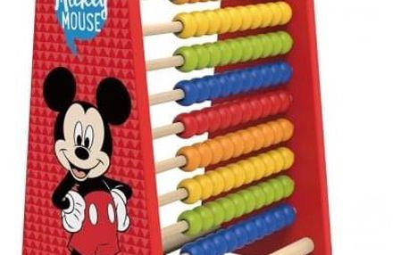 Hračka Derrson Disney Velké dřevěné počítadlo Mickey