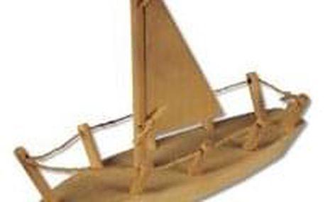 Dřevěná hračka loď AD108
