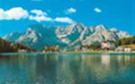 Dolomity - romantika u jezera Misurina, Cortina d´Ampezzo
