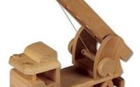 Dřevěná hračka náklaďák AD112