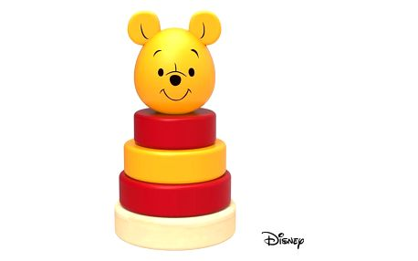 Hračka Derrson Disney Dřevěná pyramida Medvídek Pú