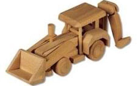 Dřevěná hračka bagr AD107
