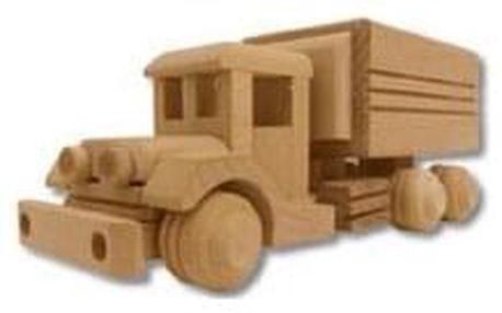 Dřevěná hračka náklaďák AD105