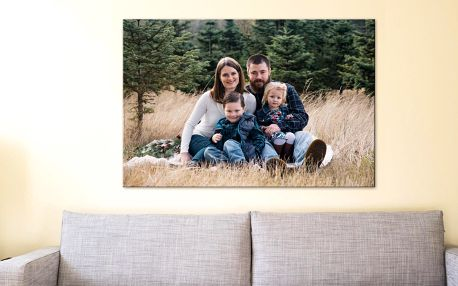 Fotoobraz s vlastní fotografií, 30x20 až 130x87cm