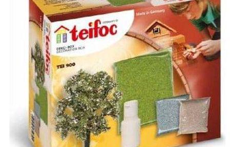 Teddies Teifoc 49847 Stavebnice Dekorační sada v krabici 18x15x8cm