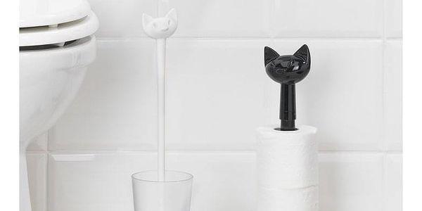 Koziol Stojan na toaletní papír Miaou, černá2
