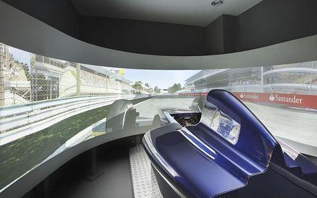 Závodní simulátor Formule 1