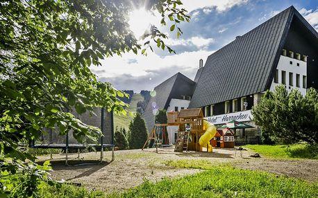 Jarní pobyt v Harrachově s polopenzí i relaxací