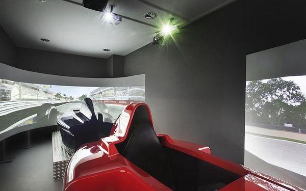 Závodní simulátor Formule 14