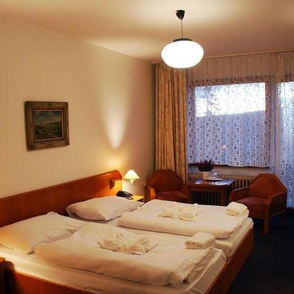 Ubytování v Hotelu Stella pro dva na 2 noci/3 dny v Železné Rudě