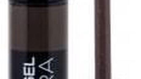 Gabriella Salvete Eyebrow Gel 6,5 ml gelová řasenka na obočí pro ženy 03 Dark Brown