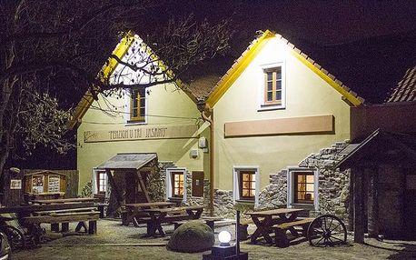 Zimní pobyt - víkend - večery u vína a v sauně v Novém Šaldorfě-Sedlešovicích