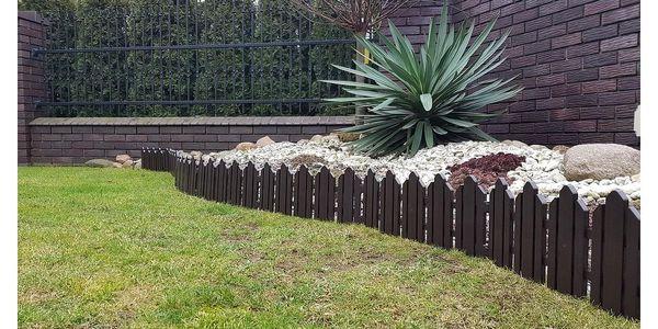 Zahradní plůtek Home hnědá, 2,3 m2