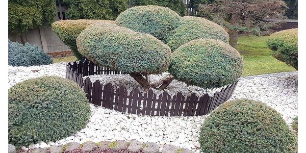 Zahradní plůtek Home hnědá, 2,3 m4