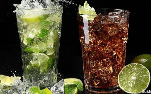 XL drinky v párty kýblu: Cuba Libre či Mojito