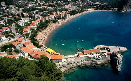 Černá Hora letecky na 8 dnů