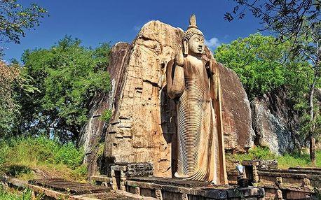Srí Lanka - Colombo letecky na 11 dnů, strava dle programu